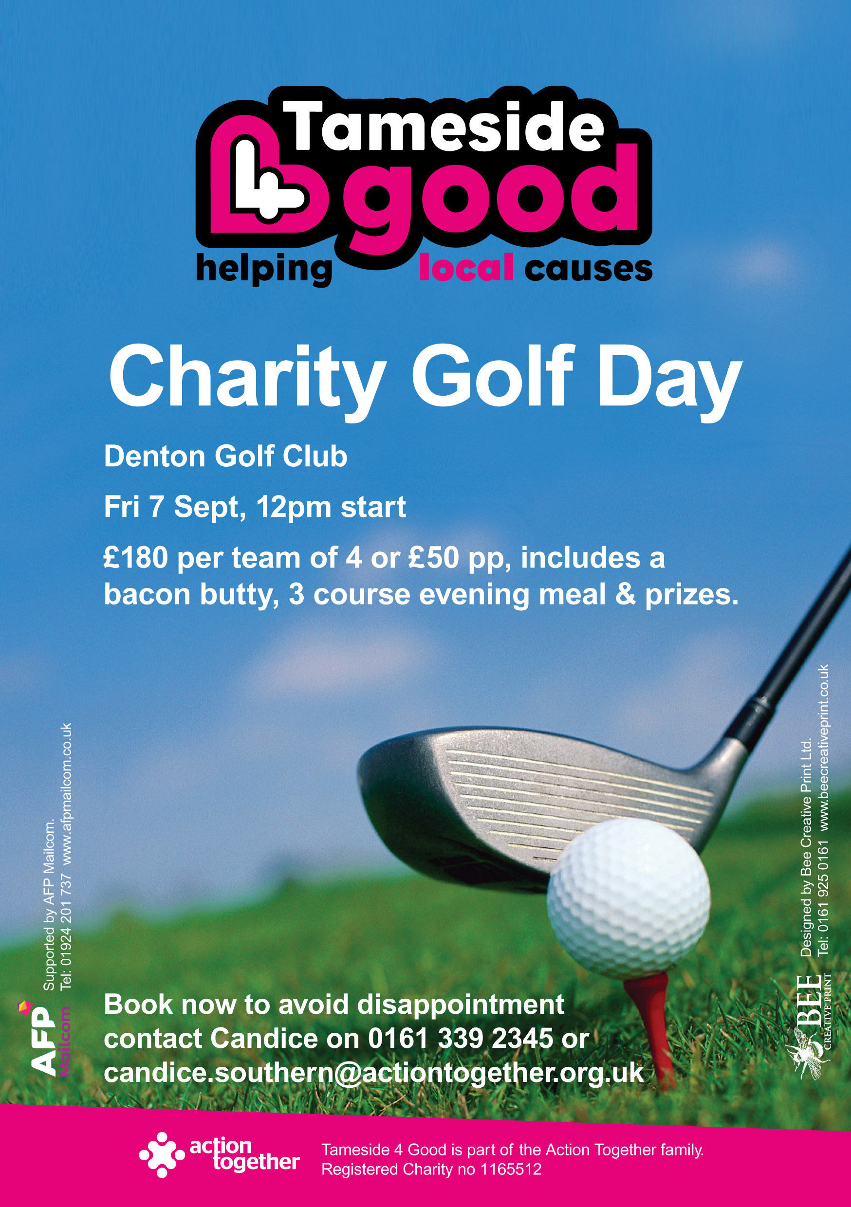 Charity Golf Day Event (Tameside 4 Good)