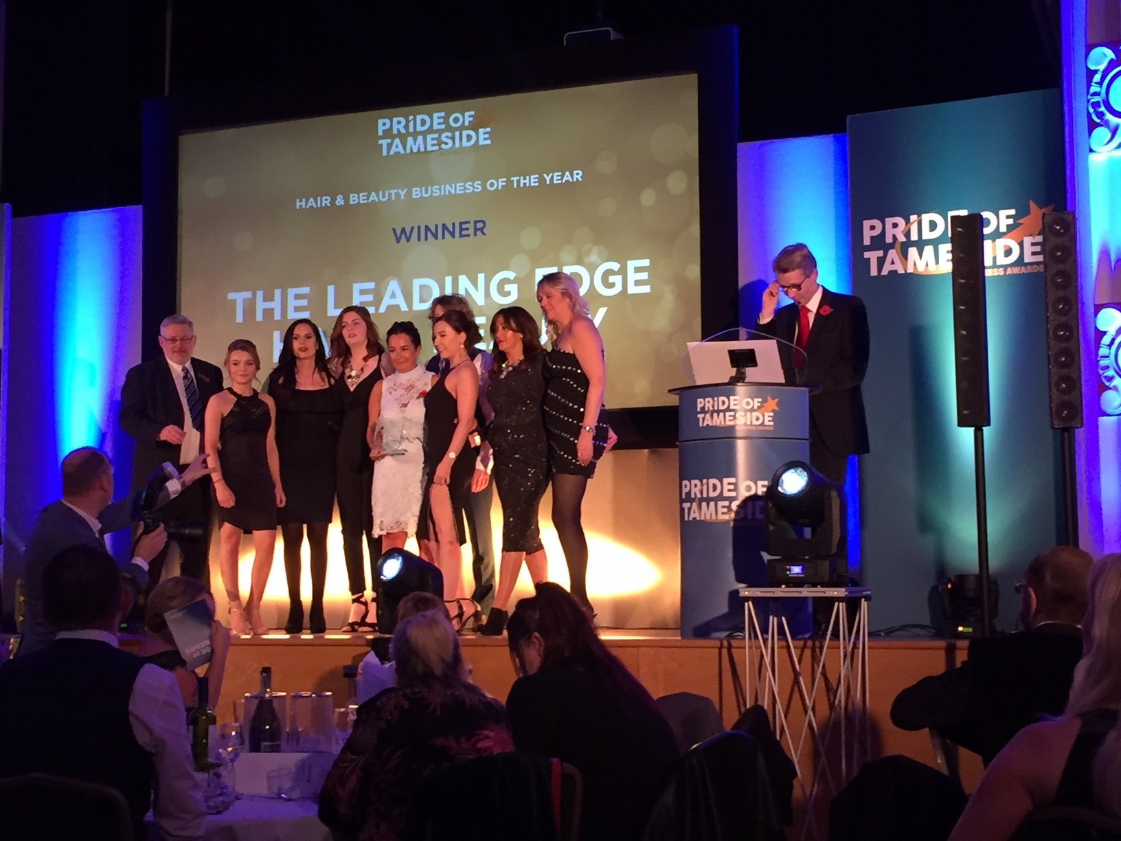 Tameside's Hair & Beauty business of the Year 2017